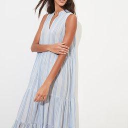 Gauze Stripe Maxi Dress | Banana Republic Factory