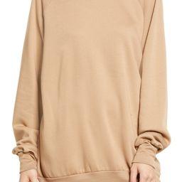 Crewneck Tunic Sweatshirt | Nordstrom