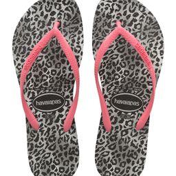Slim Leopard Flip Flop | Nordstrom
