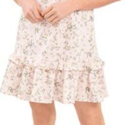 Wildflower Meadow Ruffle Jersey Dress   Nordstrom