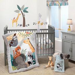 Lambs & Ivy Mighty Jungle Crib Bedding Set - 3pc | Target