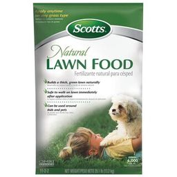 Scotts 29 lbs. Dry Natural Lawn Food-47503 - The Home Depot | The Home Depot