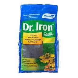 Monterey Dr. Iron 21 lb. Organic Lawn Pellets-LG7122 - The Home Depot | The Home Depot
