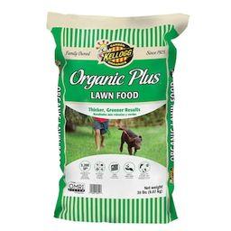 Kellogg Garden Organics 20 lbs. Organics Lawn Food-3011 - The Home Depot | The Home Depot