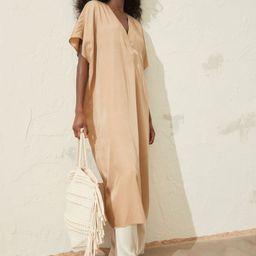 V-neck Kaftan Dress   H&M (US)