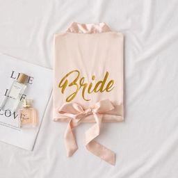 PERSONALISED WEDDING ROBESSatin Bridesmaid RobesGetting | Etsy | Etsy (US)