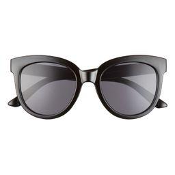 52mm Round Sunglasses | Nordstrom