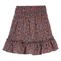 Floral Print Ruffle Skirt | Nordstrom