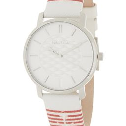 Unisex Coral Gables Leather Strap Watch, 36mm | Nordstrom Rack