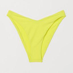 V-cut Bikini Bottoms | H&M (US)