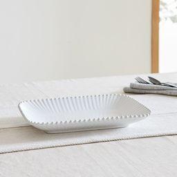 Pearl White Medium Rectangular Platter | West Elm (US)