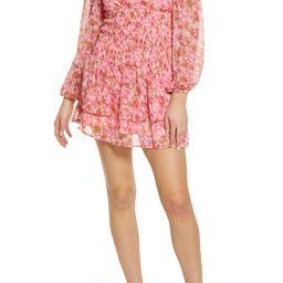 Dicte Off the Shoulder Smocked Minidress | Nordstrom