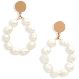 Imitation Pearl Drop Earrings | Nordstrom