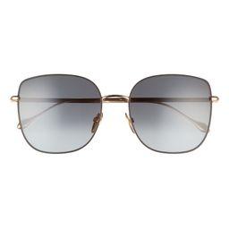 58mm Gradient Square Sunglasses   Nordstrom