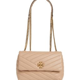 Kira Chevron Quilted Small Convertible Leather Crossbody Bag | Nordstrom