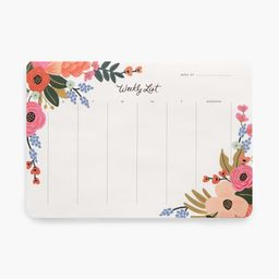 Weekly Desk Pad | Rifle Paper Co.