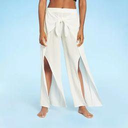 Women's Tie-Front Cover Up Pants - Kona Sol™ | Target