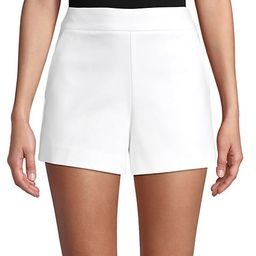 Side-Zip Cotton-Blend Shorts | Saks Fifth Avenue OFF 5TH