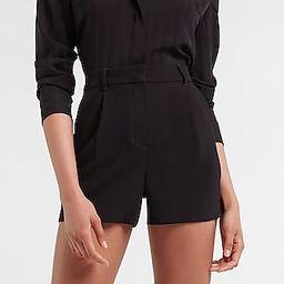 High Waisted Soft Clean Shorts | Express