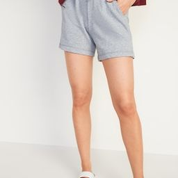Extra High-Waisted Vintage Sweat Shorts for Women -- 5-inch inseam   Old Navy (US)