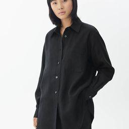 Oversized-Bluse aus Leinenmischung | ARKET (DE)