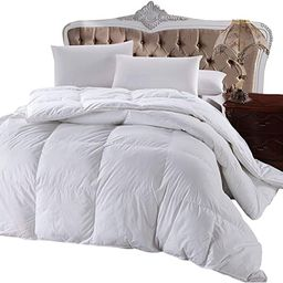 Royal Hotel 300 Thread Count Oversized King Size Goose Down Alternative Comforter, Overfilled Com... | Amazon (US)