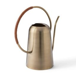 """12"""" x 12"""" Iron Watering Can Gold - Hilton Carter for Target 