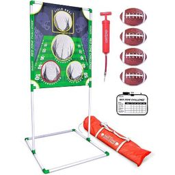 GoSports Red Zone Challenge 5 X 7 Foot Portable Football Toss Outdoor Backyard Lawn Game with 4 F...   Target