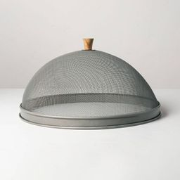 Mesh & Wood Food Dome - Hearth & Hand™ with Magnolia   Target