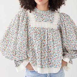 Bubbie Ditsy Long Sleeve Top | Shopbop