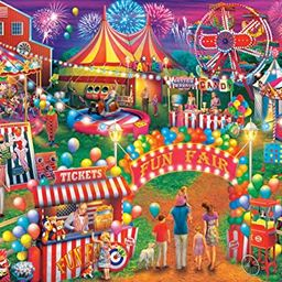 Buffalo Games - Country Life Collection - Country Fair - 1000 Piece Jigsaw Puzzle   Amazon (US)