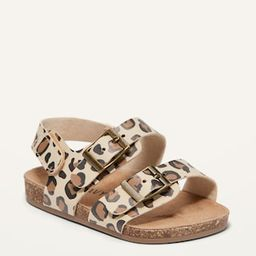 Faux-Leather Double-Buckle Sandals for Baby | Old Navy (US)
