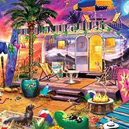 Buffalo Games - Beach Holiday - 300 Large Piece Jigsaw Puzzle   Amazon (US)