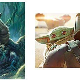 Star Wars - Fine Art Collection - Yoda - 1000 Piece Jigsaw Puzzle & Star Wars - The Mandalorian -...   Amazon (US)