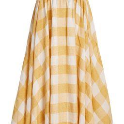 Sutherland Checked Woven Full Midi Skirt | Moda Operandi (Global)
