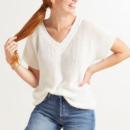 Harlow Short Sleeve Pullover | Evereve