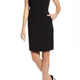 Crepe Sheath Dress | Nordstrom