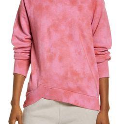 Women's Coastal Wave Angled Hem Sweatshirt | Nordstrom