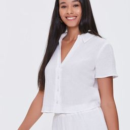 Textured Woven Shirt | Forever 21 (US)