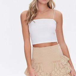 Smocked Flounce Mini Skirt | Forever 21 (US)
