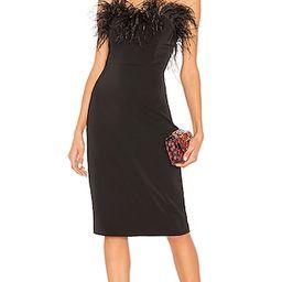 LPA Aurora Dress in Black. - size M (also in XL)   Revolve Clothing (Global)