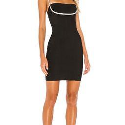 superdown Pollie Mini Dress in Black. - size L (also in M)   Revolve Clothing (Global)