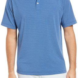 drirelease® Stripe Short Sleeve Performance Jersey Polo | Nordstrom