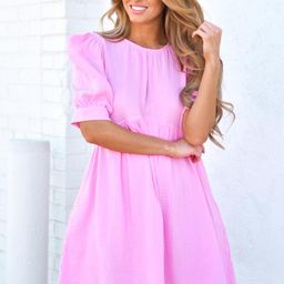 Instant Obsession Dress - Cool Pink | The Impeccable Pig