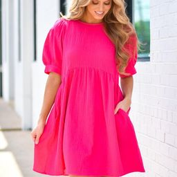 Instant Obsession Dress - Hot Pink | The Impeccable Pig