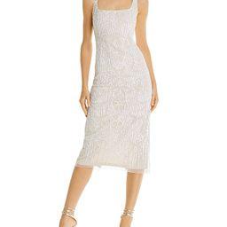 Embellished Midi Dress   Bloomingdale's (US)