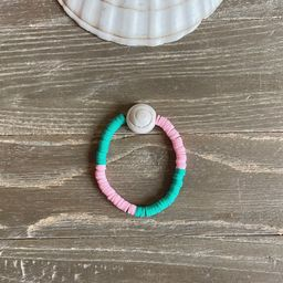 Heishi Shell bracelet | Etsy (US)