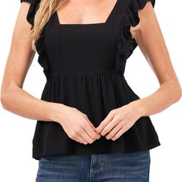 Square Neck Ruffle Blouse | Nordstrom