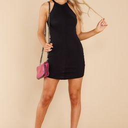 Unapologetic Sass Black Dress   Red Dress
