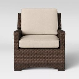 Halsted All Weather Wicker Patio Club Chair - Threshold™ | Target